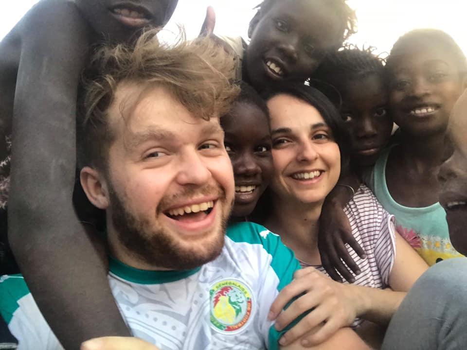 Camille au Sénégal