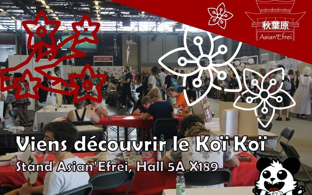 Venez jouer avec Asian'Efrei à la Japan Expo