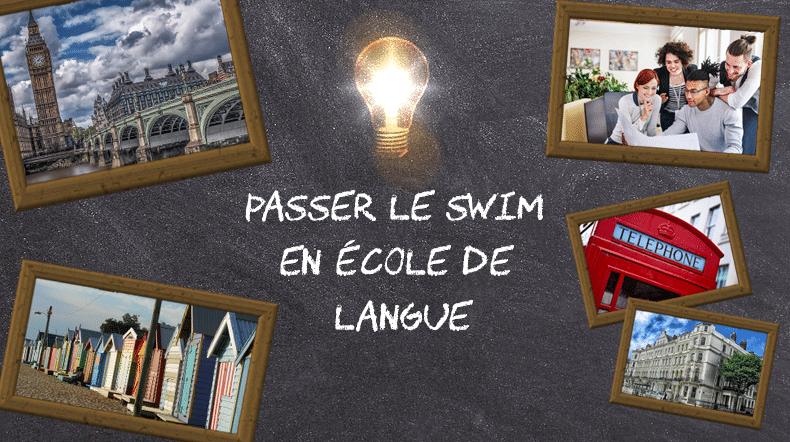 Passer le SWIM en école de langue