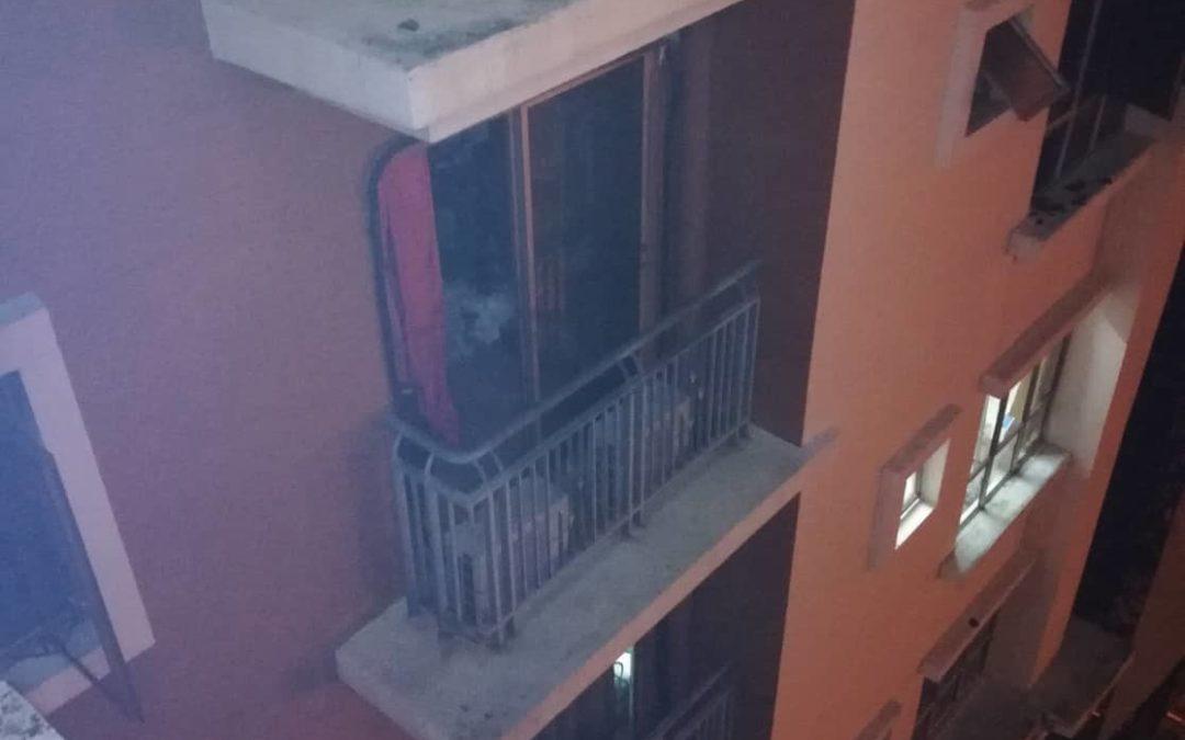 Début d'incendie maîtrisé dans la résidence en Malaisie