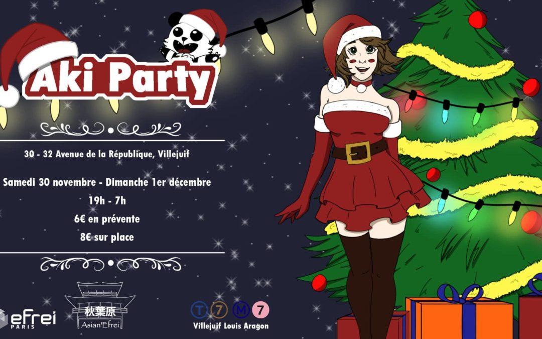 Plongée dans l'Aki Party 11.1